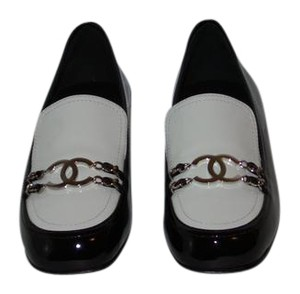 Chanel New In Box BLACK AND WHITE Flats