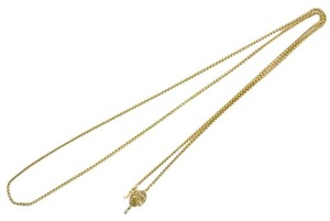 Chanel Necklace Gold Chain CCAV326