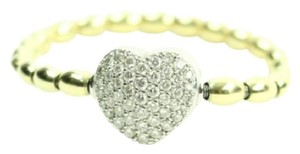 Aspery & Guldag AGSL01 Gold & Diamonds Heart Bracelet