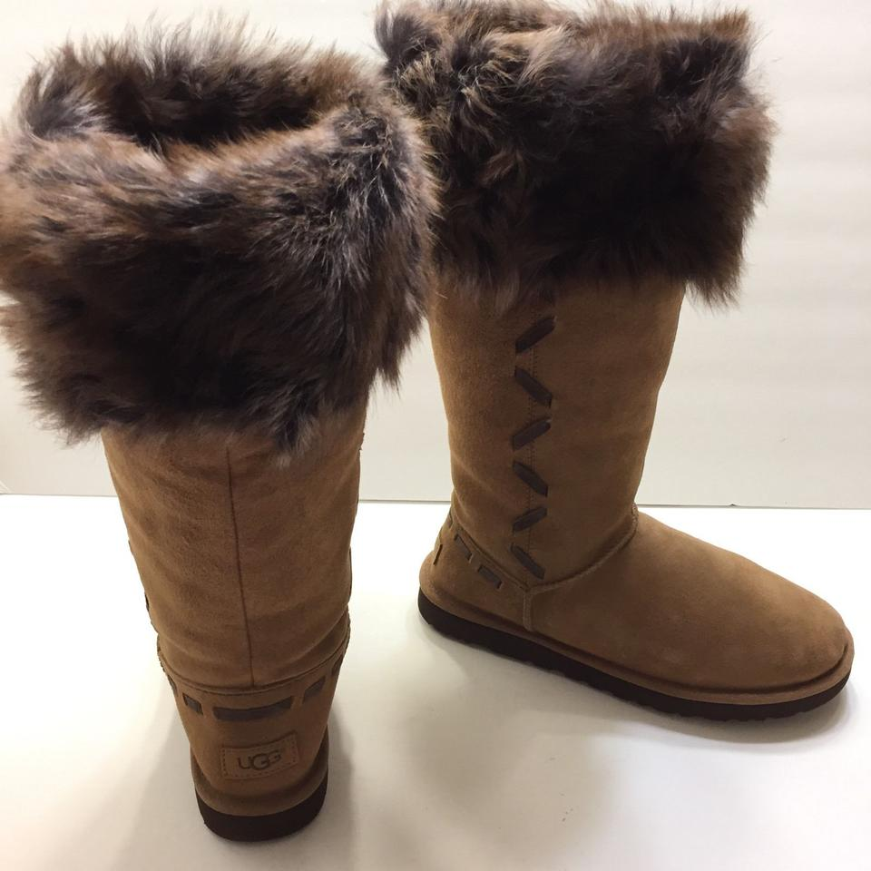 514cb589468 UGG Australia Chestnut Rosana Tall Womens Toscana Sheepskin Boots/Booties  Size US 10 Regular (M, B) 44% off retail