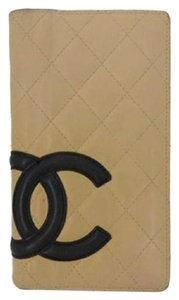 Chanel Two-tone Cambon Wallet 207608