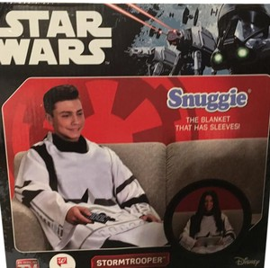 Disney Star Wars snuggie storm trooper