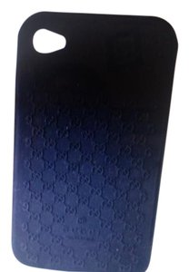 Gucci New With Tags Gucci Silicone GG Monogram Iphone 4/4s Case
