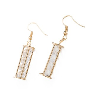 Other New Gold Tone Crystal Tower Earrings 1 in. long J3076