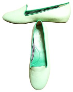 Talbots Lime green Flats