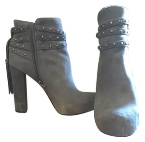 Jessica Simpson Grey Suede Boots