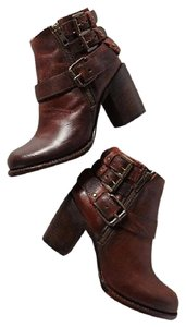 FreeBird Cowboy Chic Classic Distressed Classic By Steven Steve Madden Brown Boots