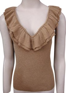 Lauren Ralph Lauren Ruffle Sleeveless Sweater