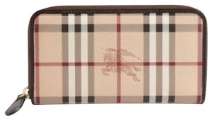 Burberry Haymarket Ziggy Wallet