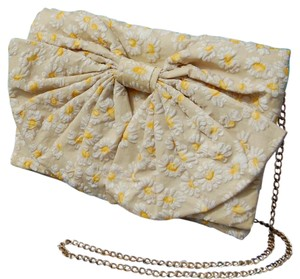 RED Valentino Valentino Bow Yellow Valentino Cross Body Bag
