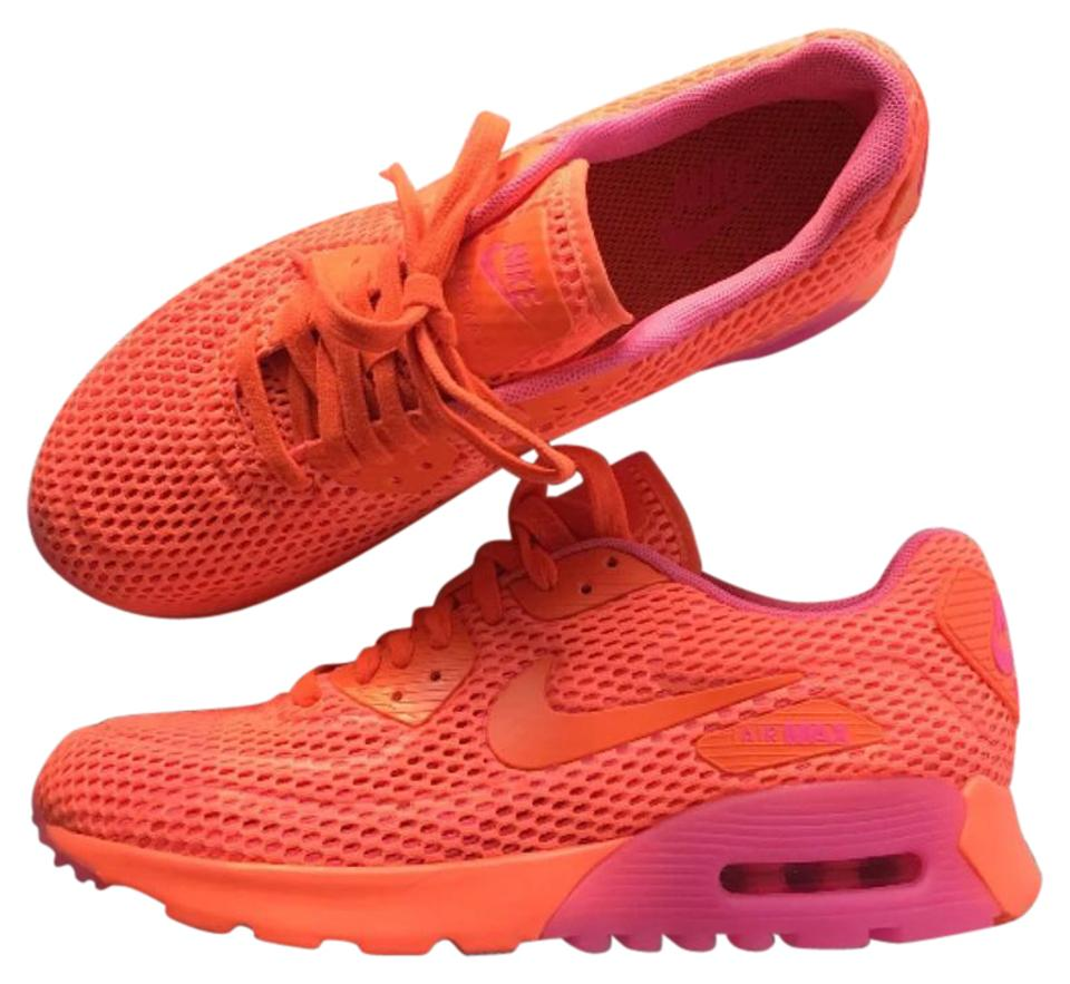 Nike Women's Air Max 90 Ultra Breathe StyleColor: 725061 800 Sneakers Size US 8 Narrow (Aa, N) 22% off retail