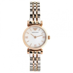 Emporio Armani Emporio Armani Watches Ladies Rose Gold & Stainless Steel Watch AR1689