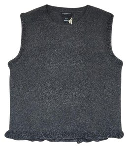 Club Monaco Top charcoal heather/ charbon