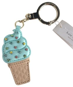 Kate Spade Kate Spade Ice Cream Popsicle Multi Key Keychain Fob Ring Purse Bag Charm