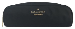 Kate Spade Kate Spade Mini Berrie Classic Nylon Black Makeup Cosmetic Bag Case Pouch