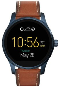 Fossil Fossil Marshal Leather Strap Digital Smart Watch FTW2106