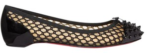Christian Louboutin Loubs Red Sole black Flats