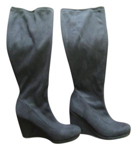 Boden Black Suede Boots