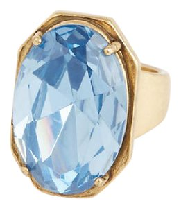 Ann Taylor Large Blue Cocktail RIng