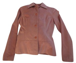 HROLD'S Suede Lined Top Stitched ROSE Blazer