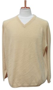 Covington COVINGTON Yellow 100% Cashmere Sweater - Size XL (46-48)