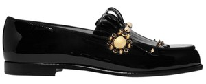 Christian Louboutin Louboutin Loubs Red Sole Loafter black Flats