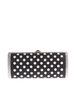 Judith Leiber Crystal Black,White Clutch