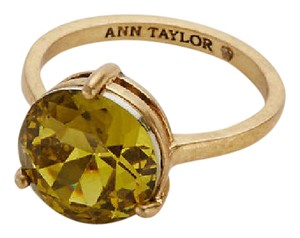 Ann Taylor TUSCAN YELLOW Cocktail Ring