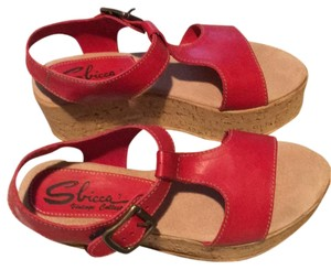 Sbicca Red Sandals