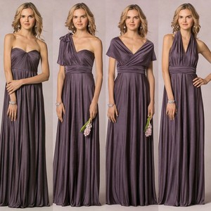 Jenny Yoo Smokey Amethyst Demi Dress