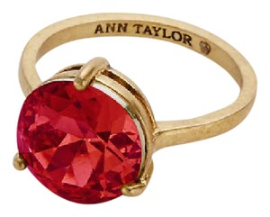 Ann Taylor CHIANTI RED Cocktail Ring