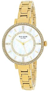 Kate Spade Kate Spade New York Women's 1YRU0692 Gramercy Gold-Tone Stainless Stee