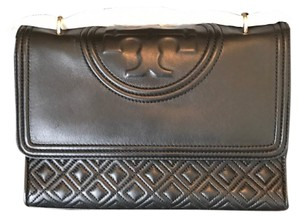 Tory burch lvy Fleming shoulder bag Tote in black