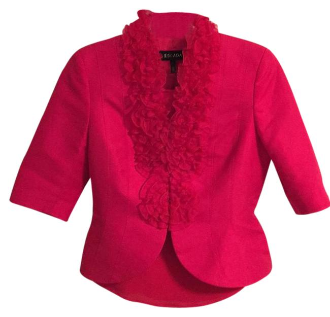 Item - Red/Pink 61891 Skirt Suit Size 4 (S)
