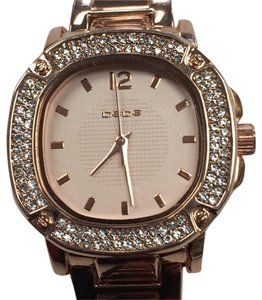 bebe Rose Gold Crystal Watch