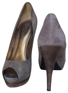 Pelle Moda Brown Suede Pumps