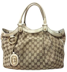 Gucci Sukey Tote Sukey Sukey Canvas Sukey Leather Tote Satchel