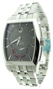 Perrelet Perrelet A1017/B Automatic Stainless Steel Power Reserve Date Watch B&