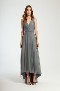 Monique Lhuillier Steel 450338 Dress
