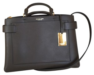 Michael Kors Collection Satchel in Elephant/Taupey Gray