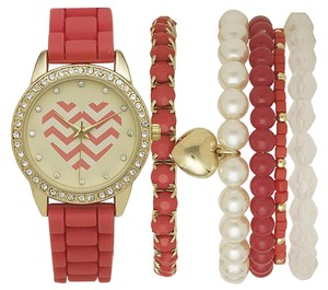 Jaclyn Smith Jaclyn Smith Ladies Stackable Watch and Bracelets Set