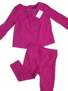 babyGap babyGap hot pink outfit, size 12-18months