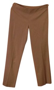 Talbots Petite Stretch Wool Khaki/Chino Pants Beige