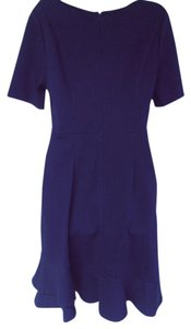 Diane von Furstenberg short dress navy Short Sleeve Dvf New Classic on Tradesy