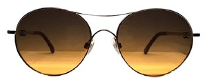 Chanel CH 4190 395 T (color) GOLD CUTE CHANEL ROUND SUNGLASSES -FREE SHIPPING