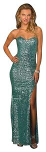 Milano Formals Sequin Sweaheart Dress