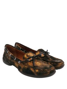 Donald J. Pliner J. Metallic Loafers Flats
