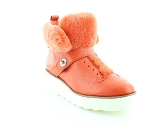 Coach Urban Hiker Orange Boots