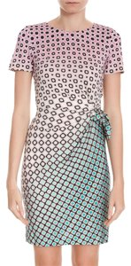 Diane von Furstenberg short dress Foulade Ombre Mini on Tradesy