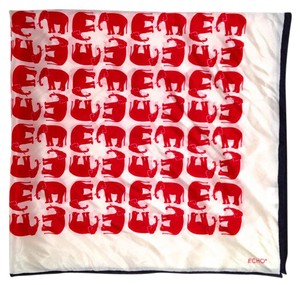 Echo Echo 100% Silk Geometric Elephant